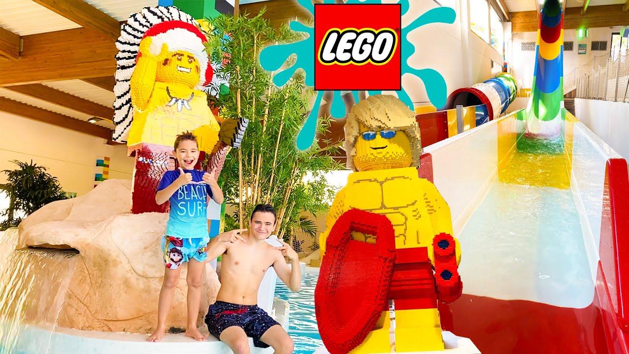 Download PARC AQUATIQUE LEGO - Toboggans 100% Fun !