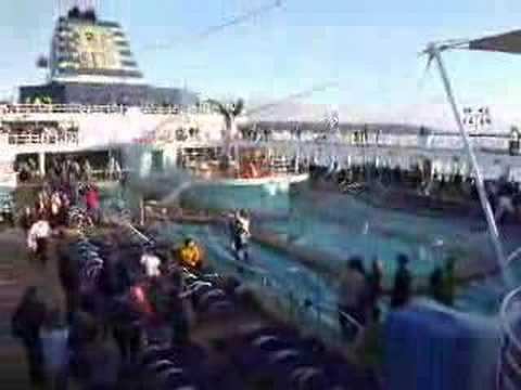 Sail Away Party on Celebrity's Mercury