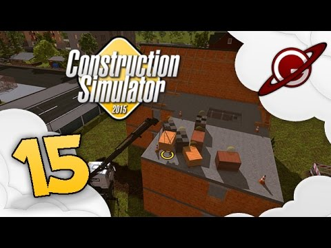 construction simulator 2015 15 agrandissement de maison youtube. Black Bedroom Furniture Sets. Home Design Ideas
