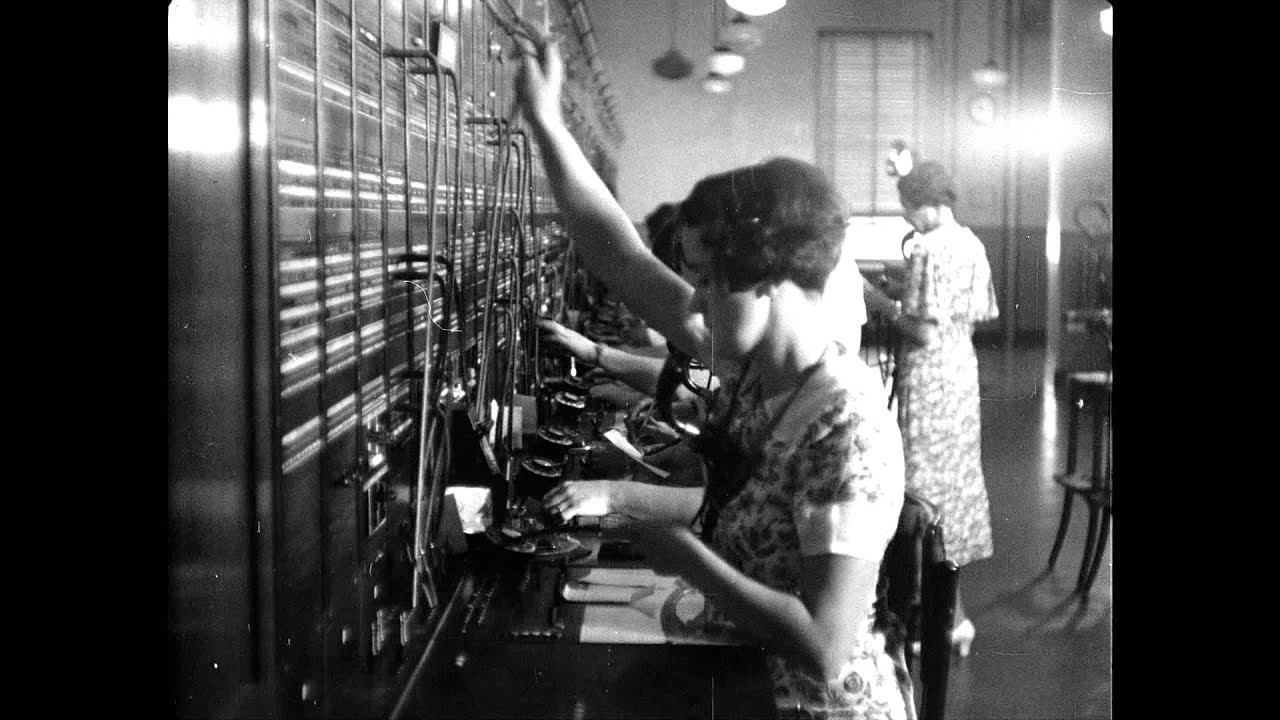 bell telephone switchboard operators 1940 1950 bell telephone switchboard operators 1940 1950