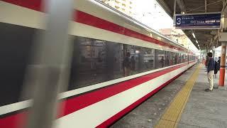 東武200系「りょうもう」 春日部駅通過