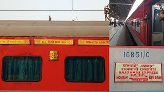 SWARN HOWRAH RAJDHANI EXPRESS | INTERIOR AND EXTERIOR FOOTAGE |