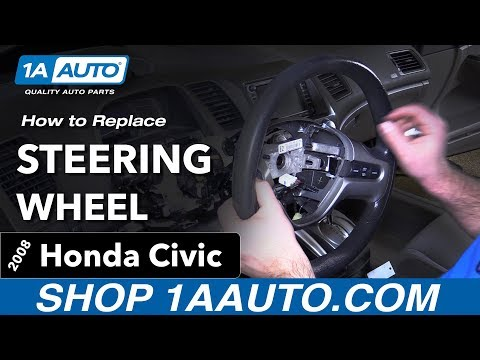 How to Replace Steering Wheel 2006-2011 Honda Civic