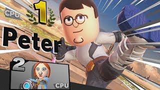 Family Guy Mii Fighter CPU Tournament