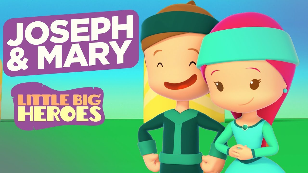 Joseph and Mary - Bible Stories for Kids - Little Big Heroes