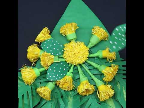 Trendy - Flower DIY | Paper Bouquet Tutorial | DIY Room Decor