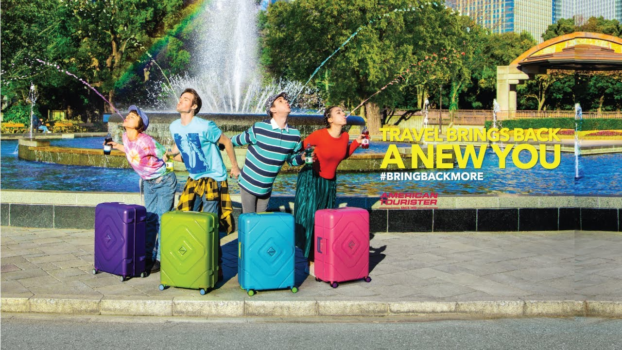 [Travel Brings Back A New You] – Vali American Tourister Trigard (30s)