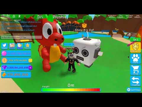 Dragon Plushie Bubble Gum Simulator Youtube