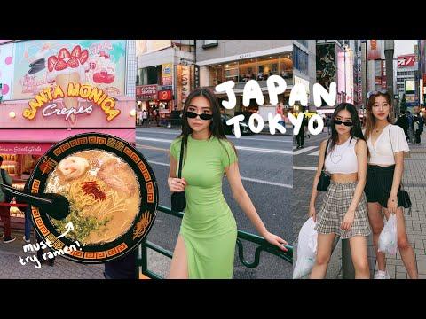 We went to JAPAN! TOKYO TRAVEL VLOG 🇯🇵🍜🍣🍥✨