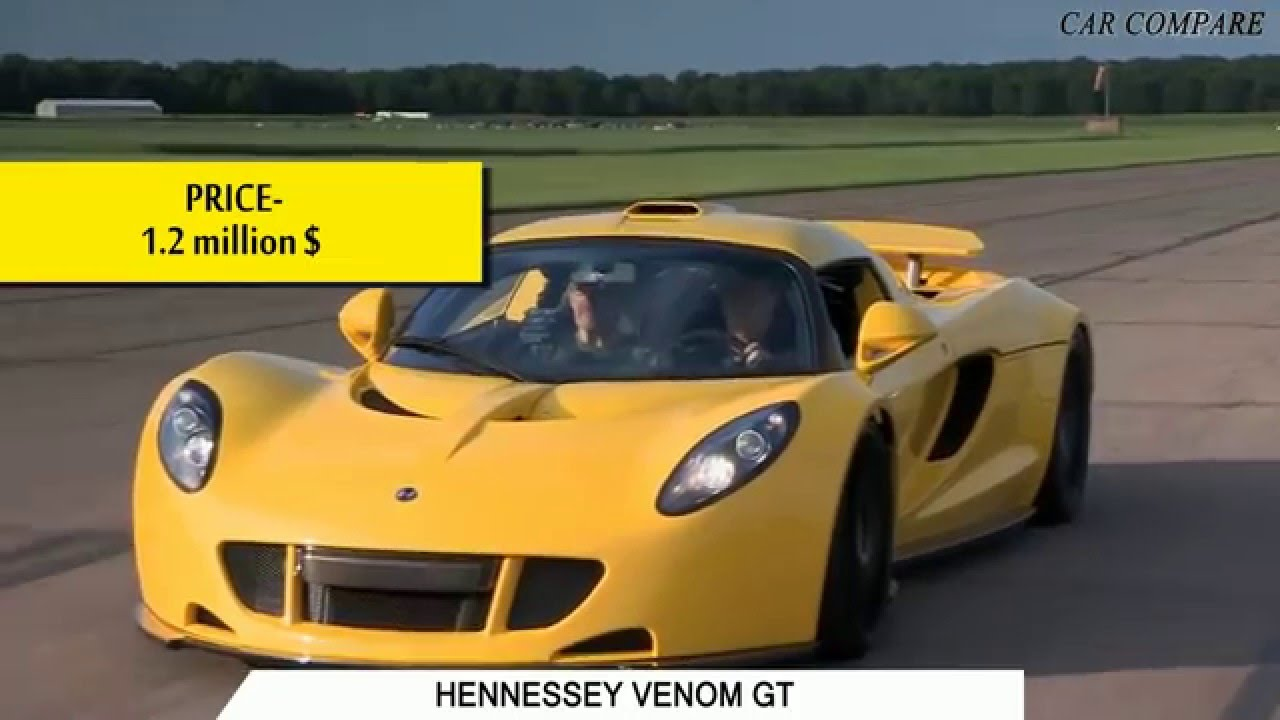 Hennessey Venom Gt Vs Lykan Hypersport