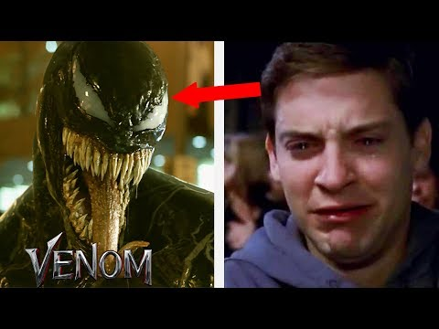 Spiderman Tobey Maguire Reacts to Venom Movie Ft. Tom Hardy 2018