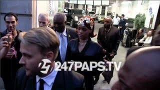 (New) Rihanna Candice Swanepoel Solange Knowles John Legend and Chrissy Teigen Met Gala 2015