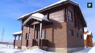 Комбинированный дом из керамических блоков и профилированного бруса. Стройка // FORUMHOUSE(Комбинированный дом в стиле шале – некий компромисс между хозяевами дома, ведь один хотел жить в каменном..., 2017-03-06T07:02:14.000Z)