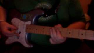 "The Bangles ""Walk Like An Egyptian"" Guitar Solo Cover"
