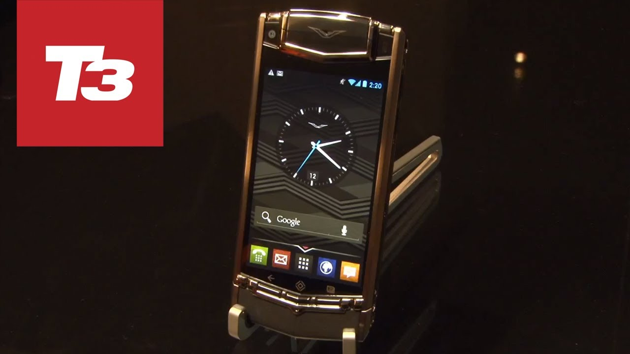 Phone Most Expensive Android Phones vertu ti hands on worlds most expensive android phone youtube phone