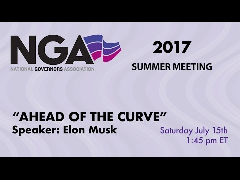 "NGA 2017 SUMMER MEETING — Introducing the New Chair's Initiative ""Ahead of the Curve"""