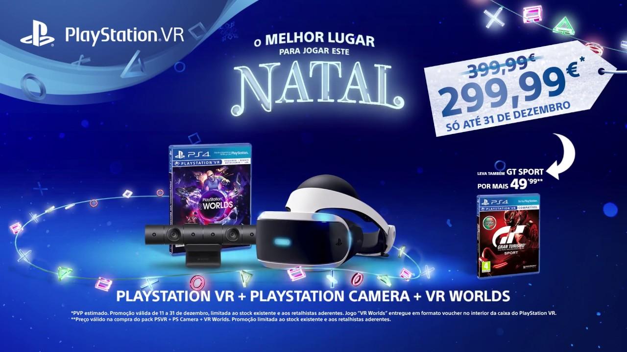 4ad6c8efd56cd Este Natal, PS VR + PS Camera + VR Worlds por 299,99€ - YouTube