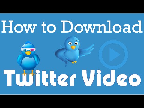 How to download Twitter video | Using Google Chrome -2016