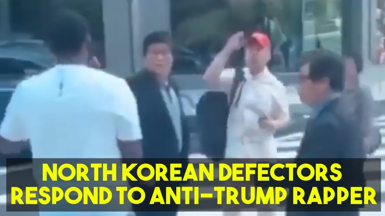 North Korean Defectors Speak Out After MAGA Hat Incident