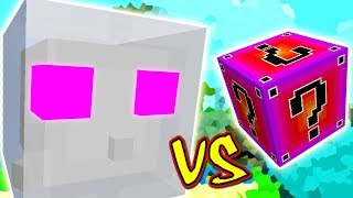 REI DOS SLIMES VS. LUCKY BLOCK INCRIVEL (MINECRAFT LUCKY BLOCK CHALLENGE PEZ JELLY)
