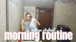 SUMMER MORNING ROUTINE | College GRWM Before Class