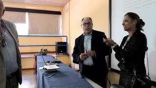 Sandro Menichelli all'istituto E. Carafa di Andria