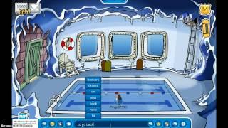 Club Penguin: Secret Entrance to Underground Pool