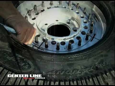 Run Flat Tires >> CENTER LINE MILITARY RUN-FLAT WHEEL - YouTube