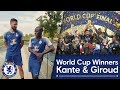 Download Chelsea's World Cup Winners: N'Golo Kante & Olivier Giroud
