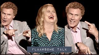 Why NOT to expect WILL FERRELL and AMY POEHLER to be FUNNY when you meet them 😭...