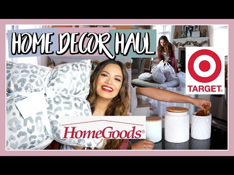 HOMEGOODS & TARGET Home Decor Haul