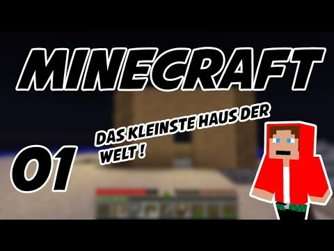 let s play minecraft 01 das kleinste haus der welt. Black Bedroom Furniture Sets. Home Design Ideas
