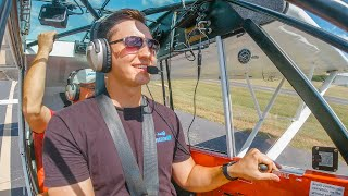 Learning to LAND a Tailwheel Airplane | Tailwheel Training: Part 1
