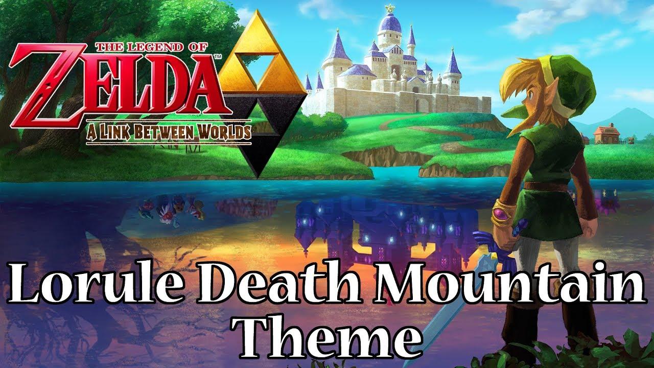 A Link Between Worlds - Lorule Death Mountain Theme
