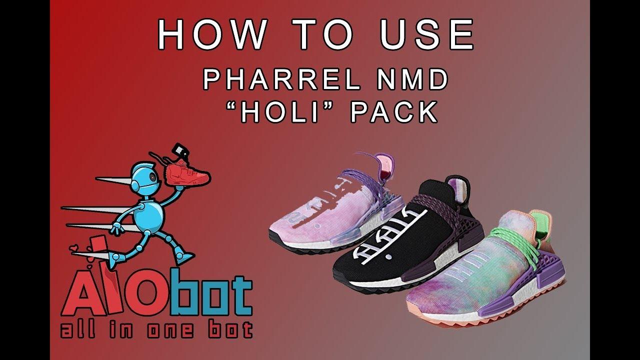 Come Usare Adidas Aio - Bot Per Adidas Usare Pharrel Nmd
