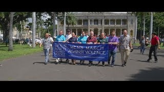 Mens March Against Violence 2019 | Hawaii Video Production