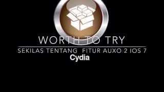 Tampilan Auxo 2 ios 7 di  iPhone 5 Jailbreak Video