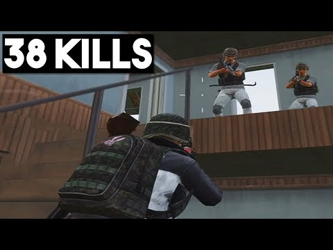 FIGHTING 1 vs 8 | 38 KILLS Duo vs SQUAD | PUBG Mobile