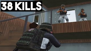 FIGHTING 1 vs 8 | 38 KILLS Duo vs SQUAD | PUBG Mobile 🐼