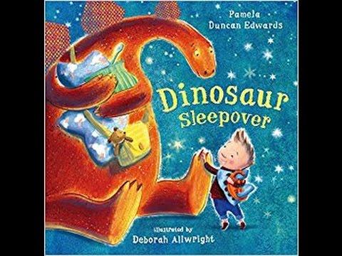 Dinosaur Sleepover - Bedtime Story Read Aloud