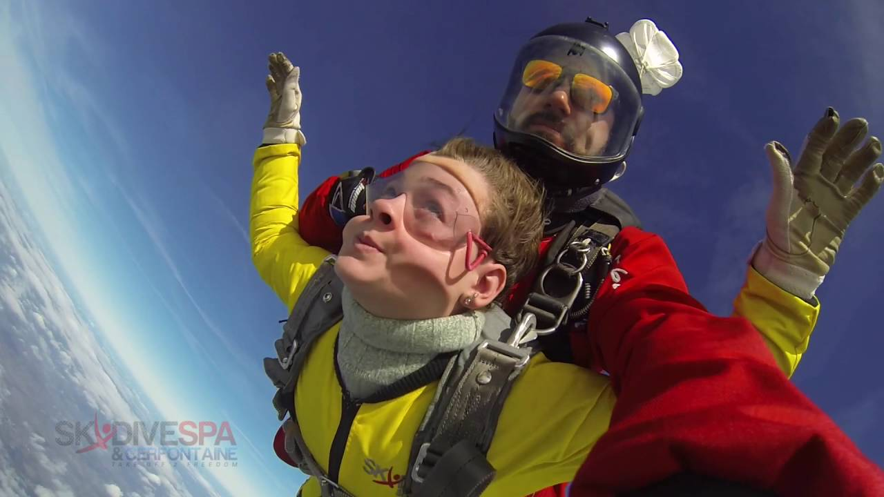 saut en parachute 12 ans