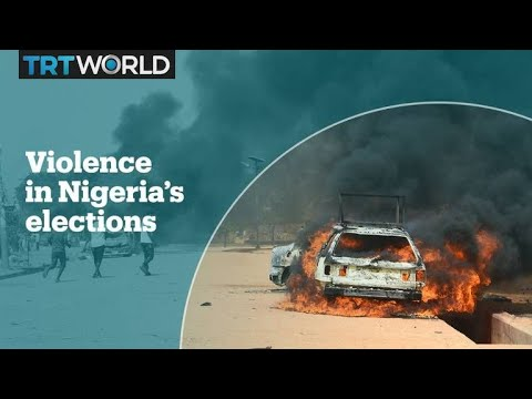 At least 39 killed in Nigeria election violence