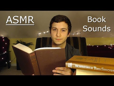 (ASMR) Back to Basics - Book Sounds | Tapping, Page Turning, Paper, Scratching, Whispered