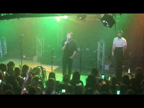 Isaac Hanson Stand by me Karaoke 5.18.17 Tulsa, OK