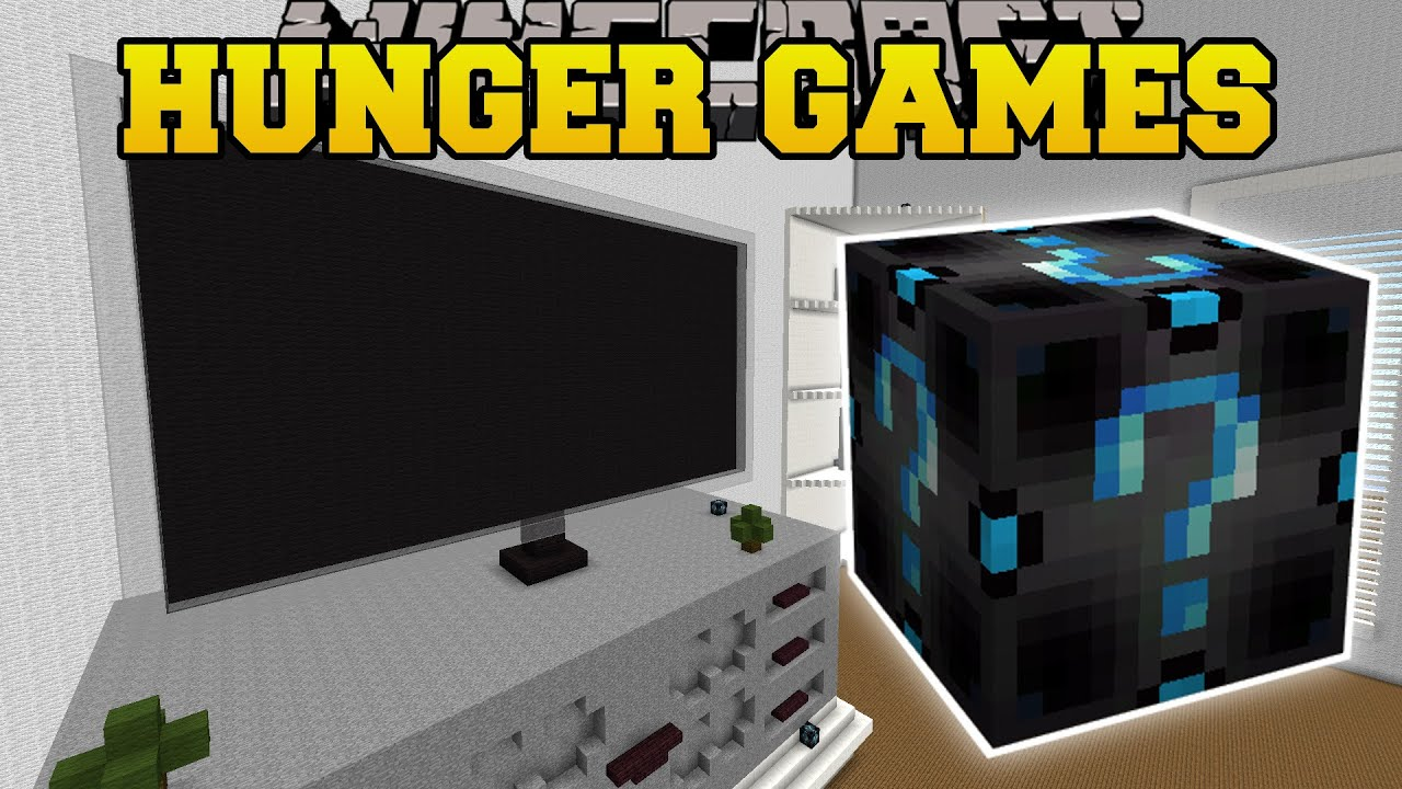 Minecraft PAT Amp JENS REAL LIFE HOUSE HUNGER GAMES Lucky Block Mod Modded Mini Game YouTube