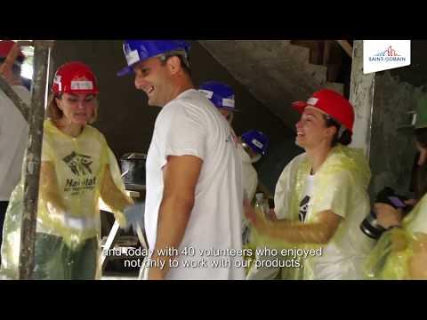 Ziua Habitat For Humanity Pentru Echipa Saint-Gobain Romania
