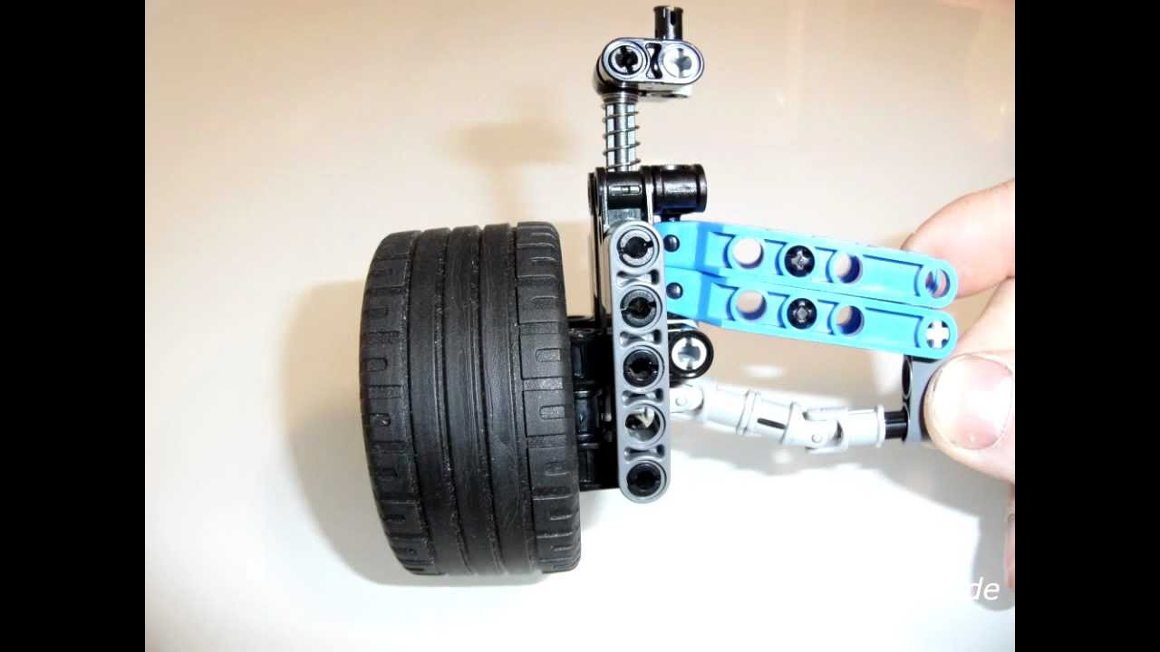 Lego technic suspension by solde youtube for Solde suspension