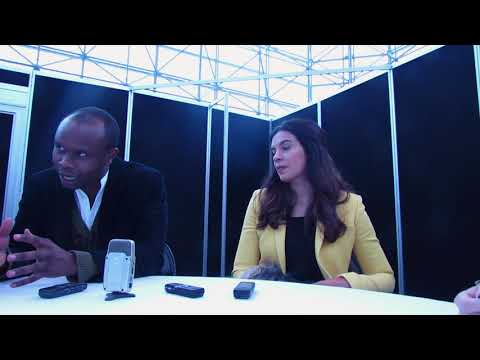 NYCC 2017: The Exorcist Kurt Egyiawan and Zuleikha Robinson