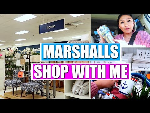MARSHALLS SHOP WITH ME!