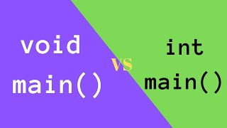 Difference between int main and void main in c programming | Dr. Yogendra Pal | Hindi / Urdu